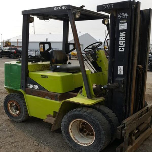 Clarke 7000lb Forklift Butterfield Forklift Ltd