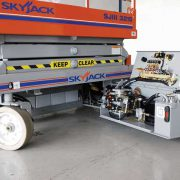 SkyJack Electric Scissor Lift 4