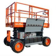 SkyJack Rough Terrain Scissor Lift 1