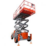 SkyJack Rough Terrain Scissor Lift 2