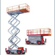 SkyJack Rough Terrain Scissor Lift 3