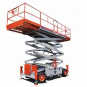 SkyJack Rough Terrain Scissor Lift 5