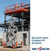 SkyJack Rough Terrain Scissor Lift 6