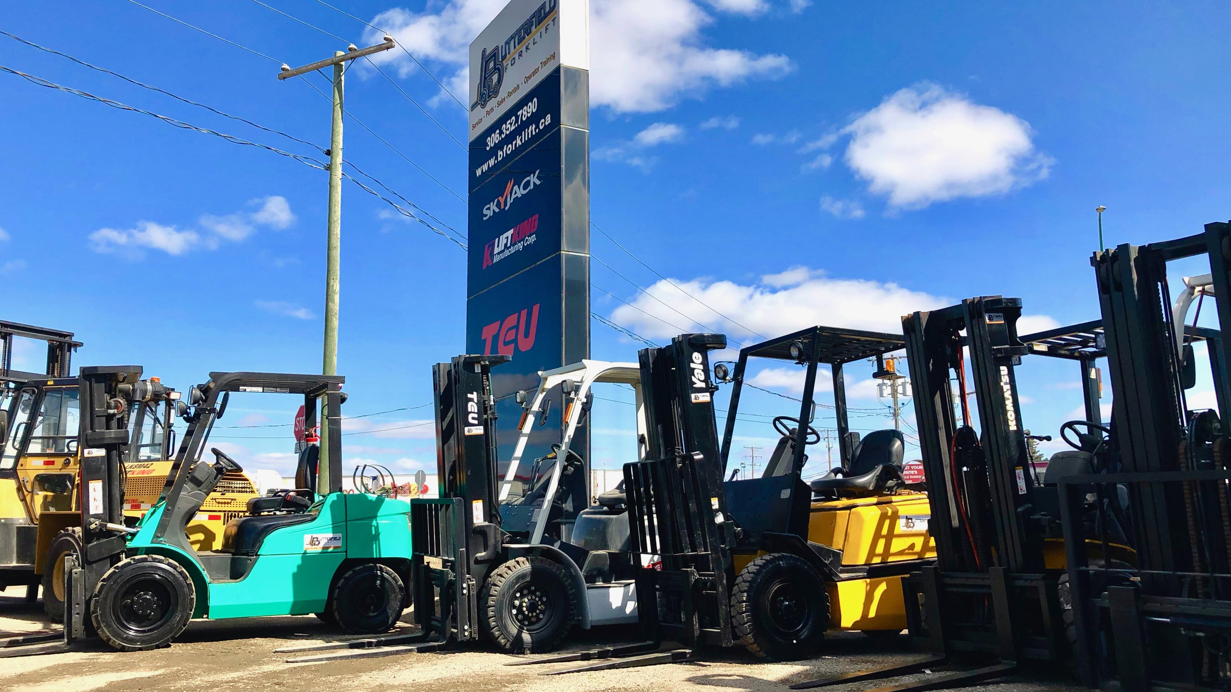 Regina | Forklift Services | Equipment | Repairs